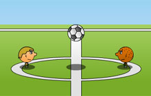 Играть 1 on 1 Soccer