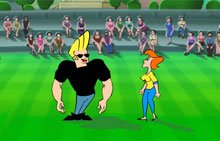 Johnny Bravo Soccer Champ
